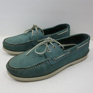 Sperry Nubuck Leather Casual Boat Deck Shoes 10.5